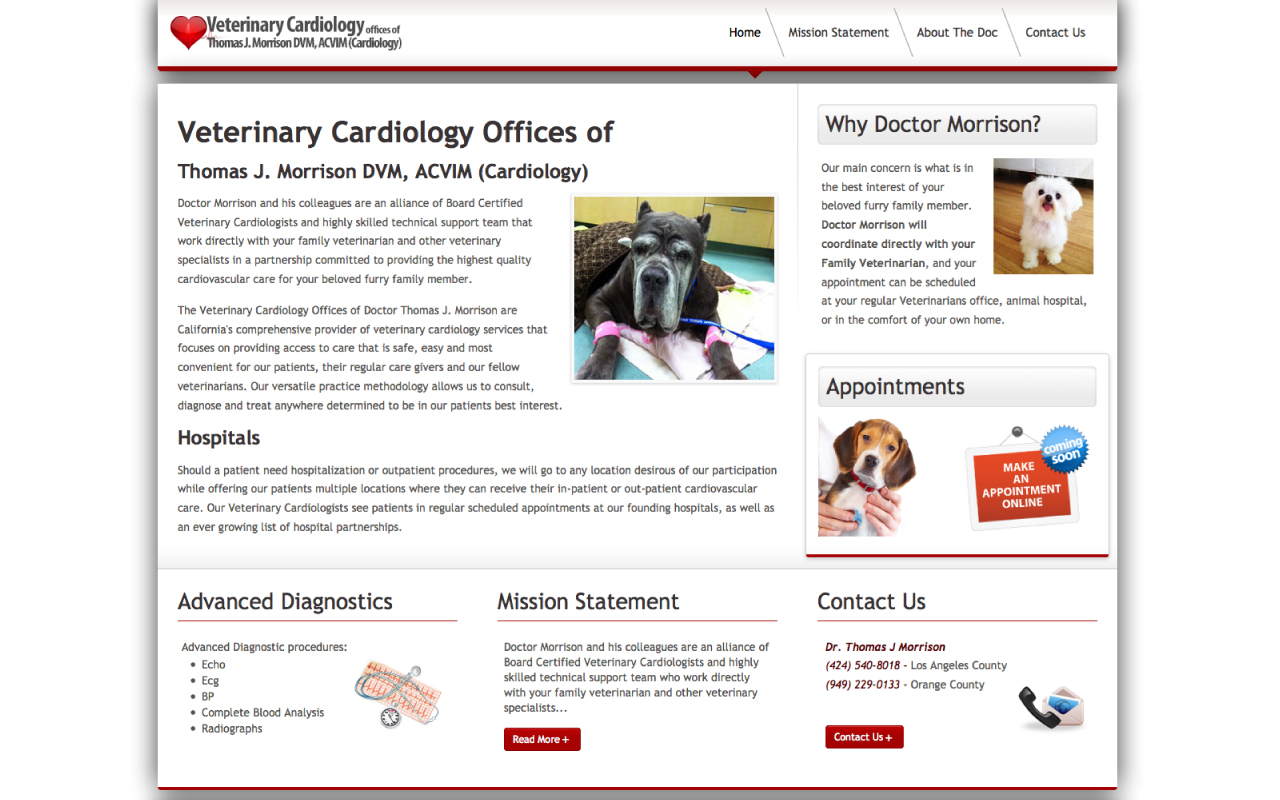 Veterinarian Website