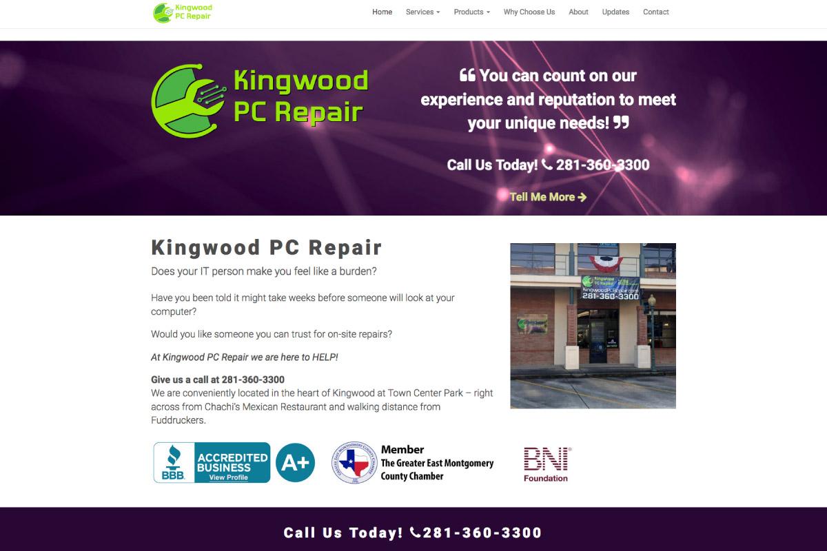 Computer Repair Shop Website