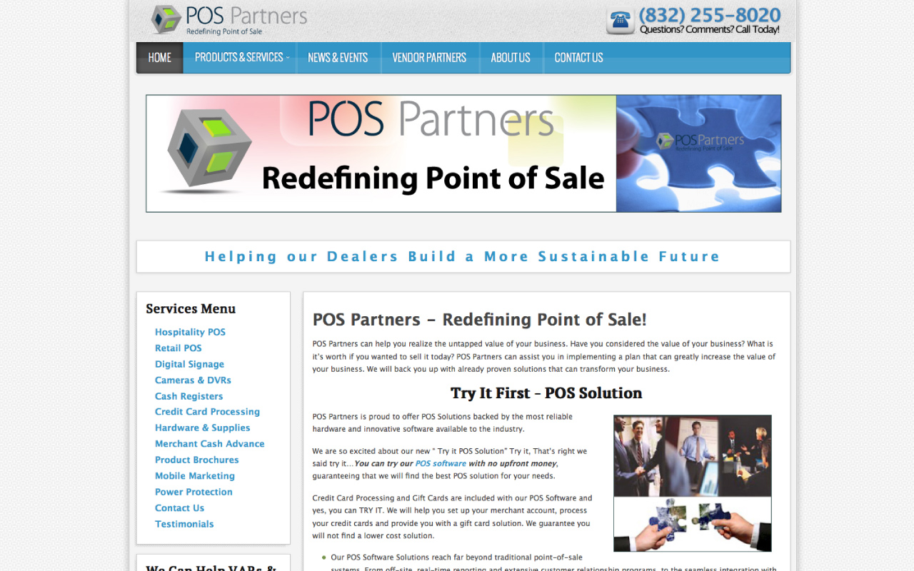 MyPOS Partners - Business Website