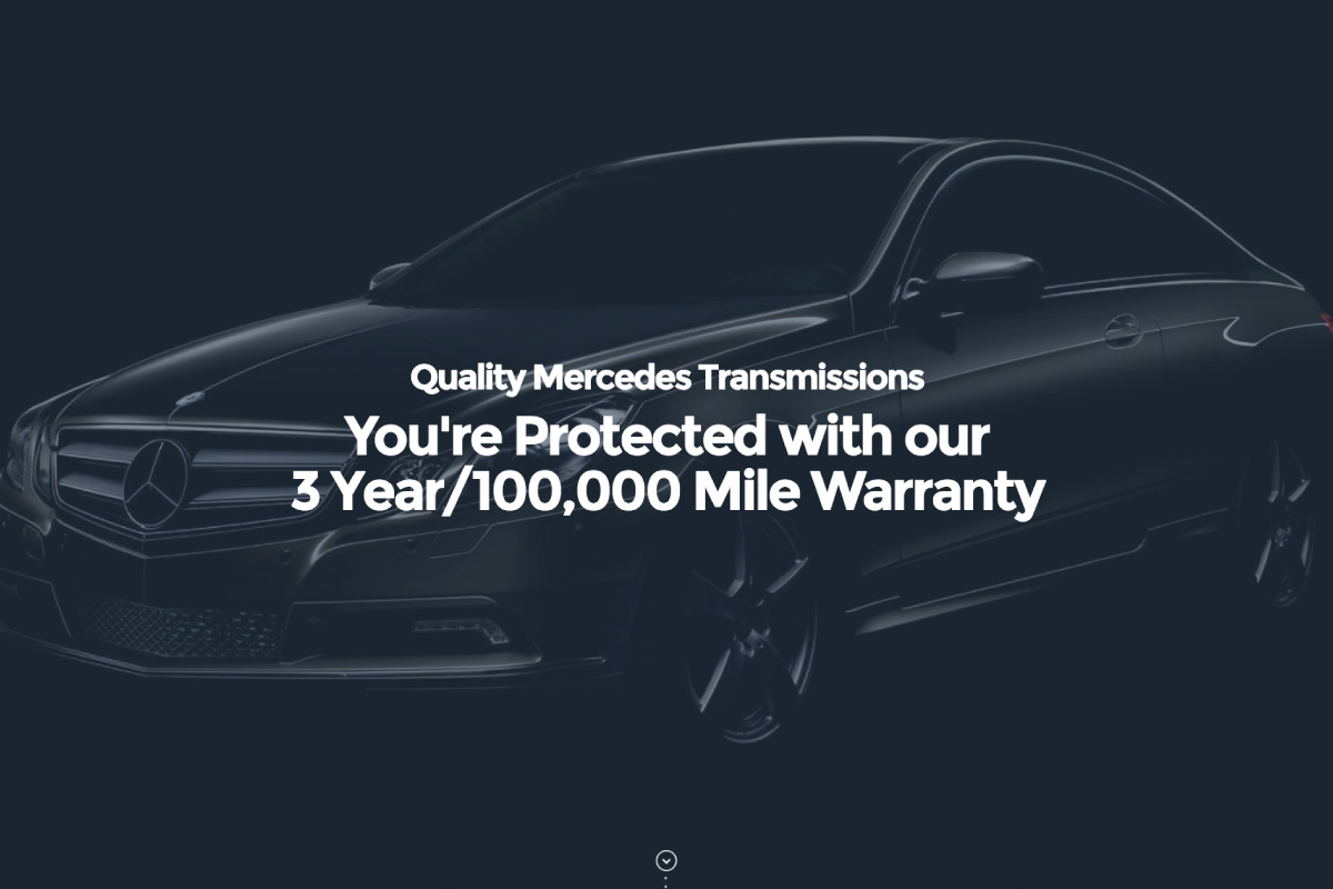 Quality MercedesTransmissions - Website by WebPlexx