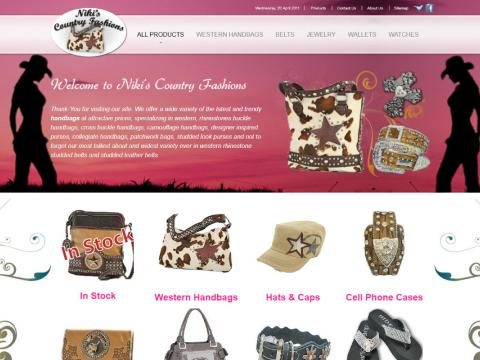 Clothing and Accesories Website Desgin