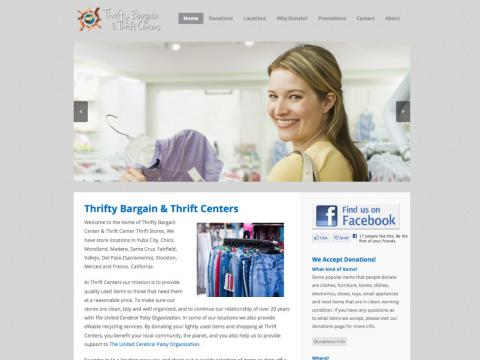 Thrift Store Chain Website